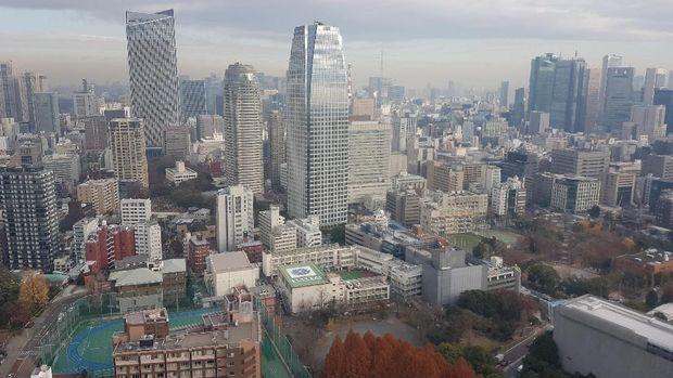 Pemandangan Tokyo dari ketinggian (Elvan/detikTravel)