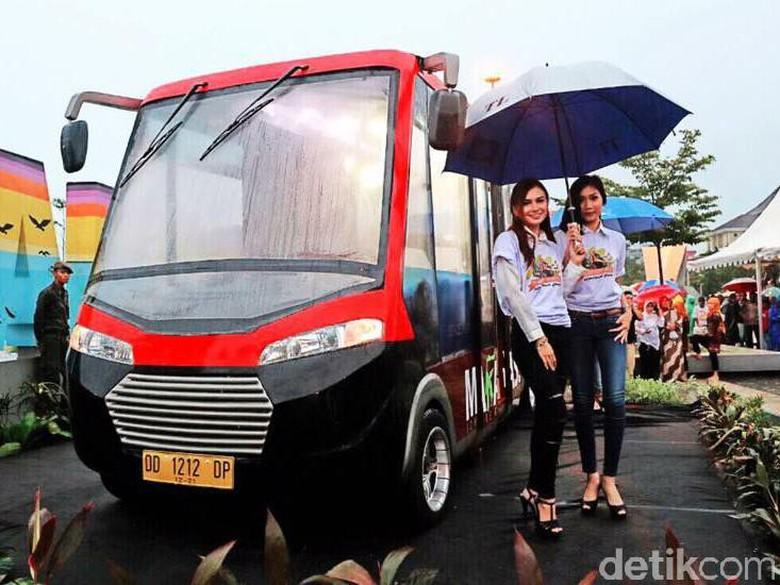 Pete-pete Smart, Angkot Canggih dari Makassar