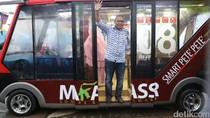 Wali Kota Makassar Luncurkan Angkot Pete-pete Smart