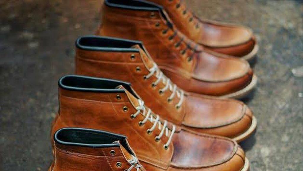 Berawal dari Hobi, Pria Ini Raup Omzet Rp 300 Juta/Bulan dari Bisnis Sepatu Kulit