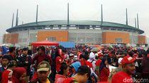 INASGOC Pastikan Final Sepakbola Digelar di Stadion Pakansari