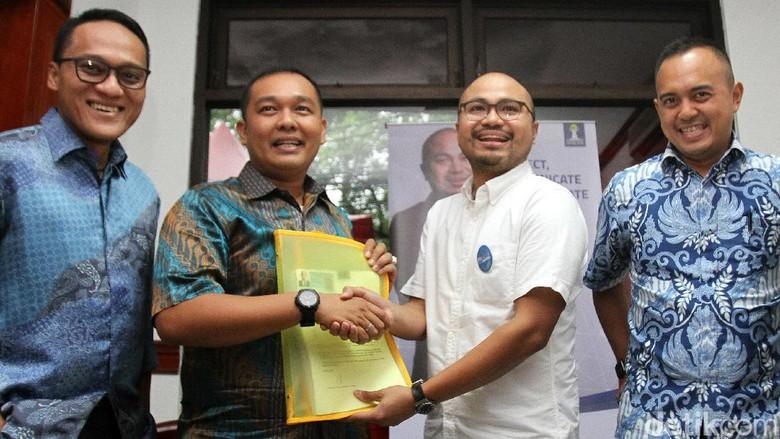 Afifuddin Suhaeli Kalla Daftar Calon Ketum HIPMI Jaya