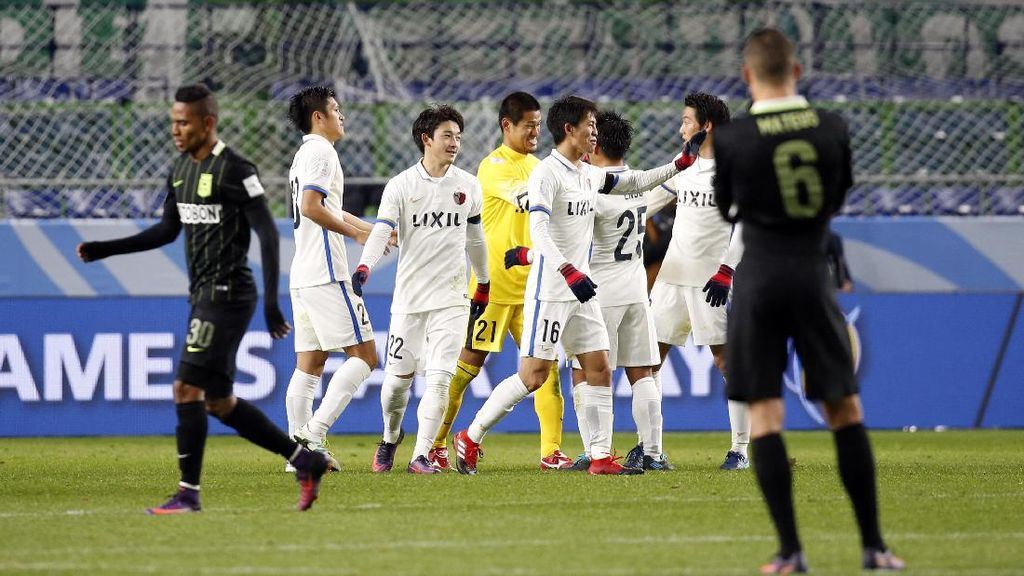 Kashima Antlers ke Final Usai Bekap Atletico Nacional 3-0