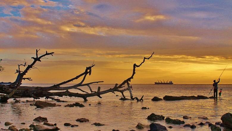 Foto: Panorama Pulau Tikus di Bengkulu (Aditya Ramadhan/dTraveler)