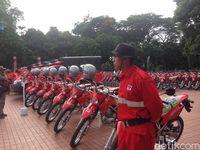 Menteri LHK Serahkan 6 Ribu Peralatan Pemadam Kebakaran untuk 7 Provinsi