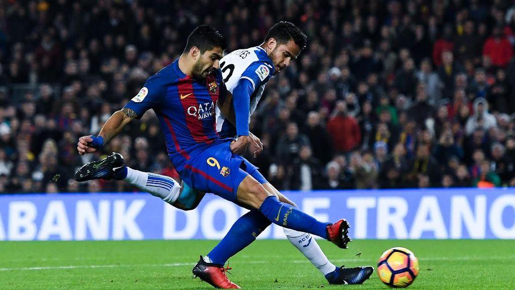 Barcelona Hantam Espanyol 4-1