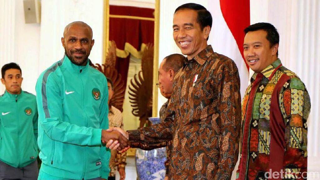 Jokowi Undang Timnas ke Istana