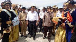 Ke Morowali, Bandara Ini Jadi Perhatian Menhub