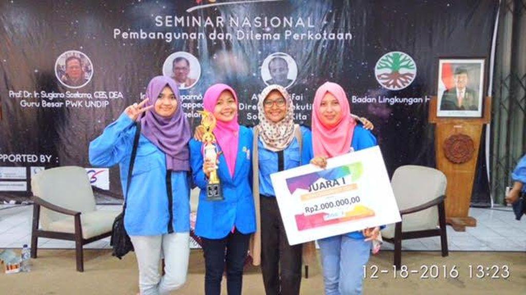 Juara Karya Tulis, Mahasiswi President University Ini Ingin Ilmunya Bermanfaat