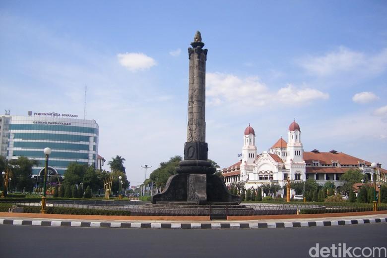 Peringatan Pertempuran 5 Hari, Tugu Semarang Ditutup