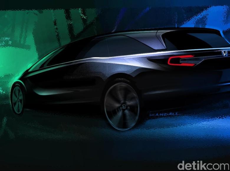 Honda Siap Luncurkan Odyssey Terbaru, Ini Sketsanya