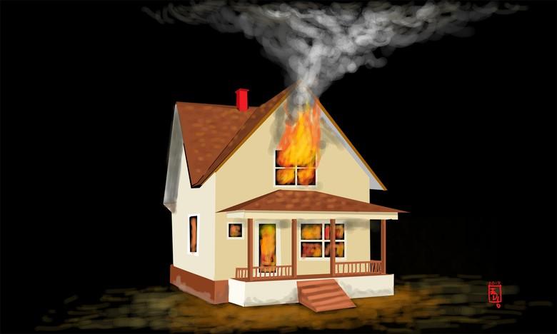 Regulator Tabung Gas Bocor, Rumah Terbakar di Cakung