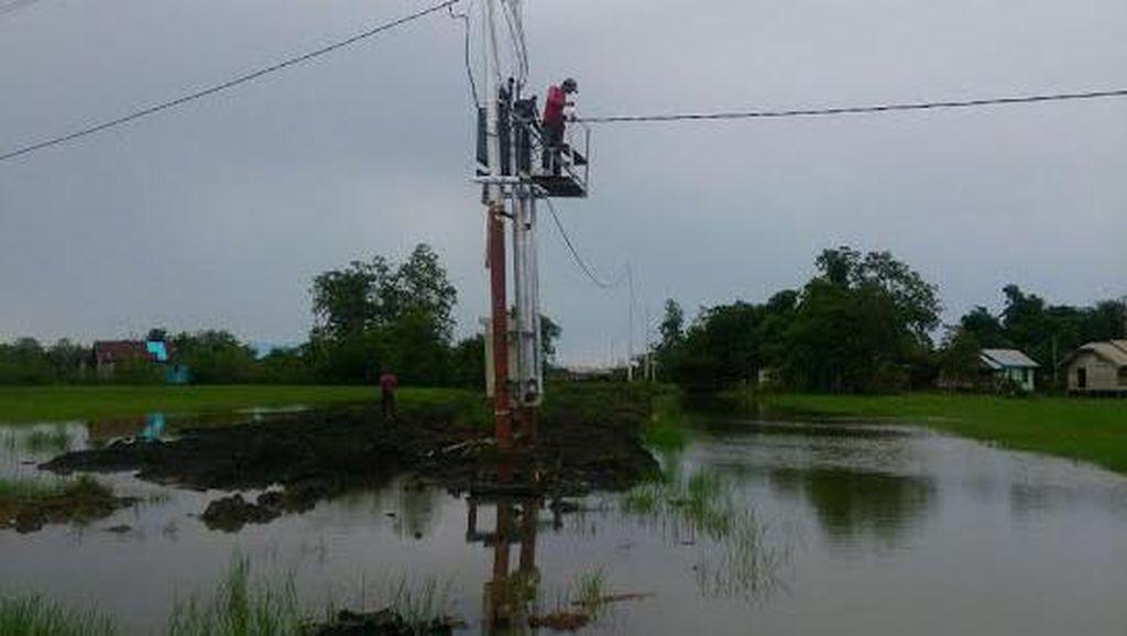PLN Berupaya Pulihkan Infrastruktur Listrik di Bima Pasca Diterjang Banjir