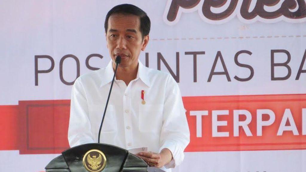 Genjot Ekonomi di Perbatasan, Jokowi Minta Bangun Pasar di Entikong
