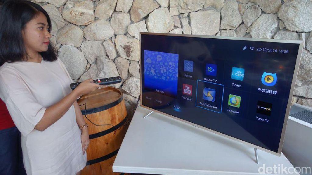 TV Pintar TCL Bergaya Ramping dan Kaya Fitur
