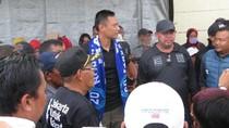 Hadiri HUT Persitara Jakarta Utara, Agus Buka Turnamen Sepakbola