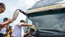 Mewahnya Bus Tingkat Antar Kota Wonogiri-Solo-Jakarta