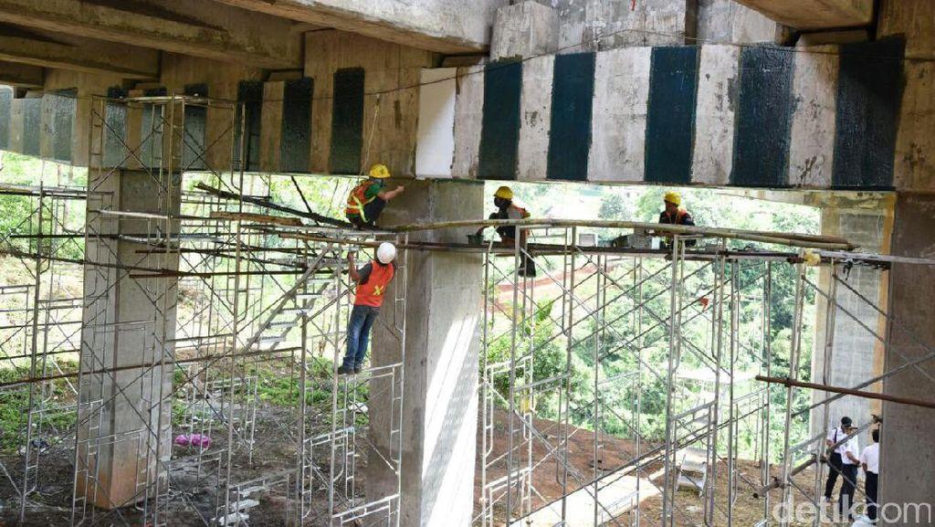Jembatan Cisomang Bergeser 53 Cm, PUPR: Karena Curah Hujan