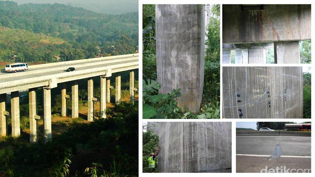 Jembatan Cisomang Bergeser 53 Cm, Menteri PU: Mobil Kecil Boleh Lewat