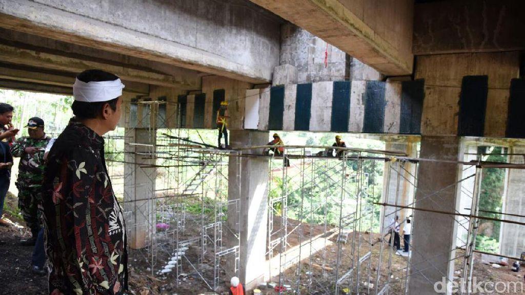 Jembatan Cisomang Tol Purbaleunyi Bergeser 53 Cm
