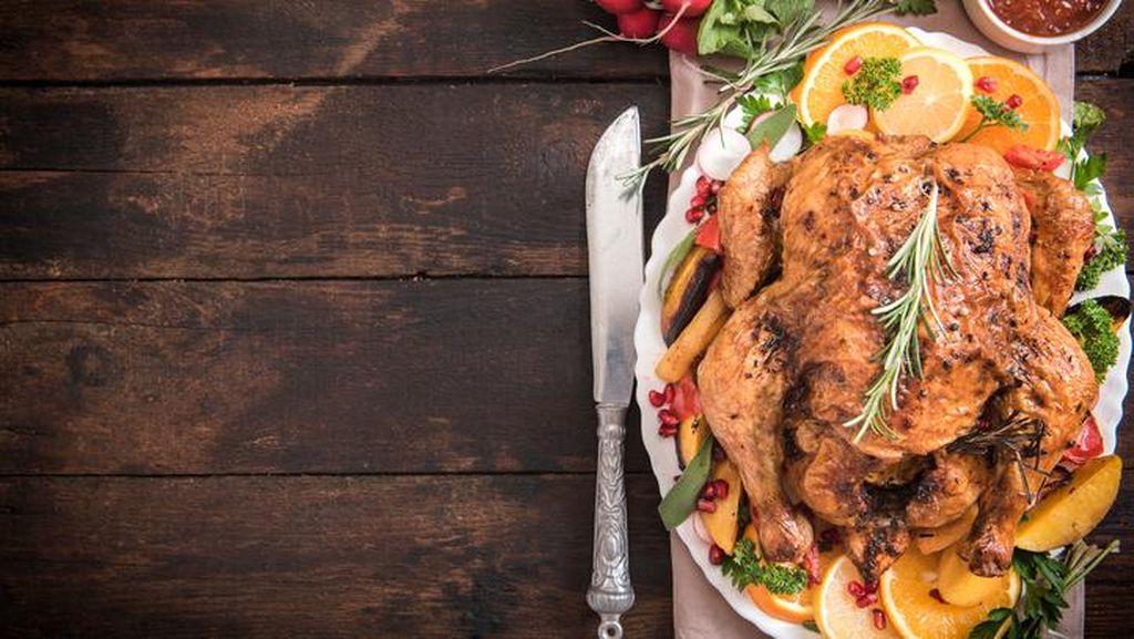 Sambut Thanksgiving, Restoran Ini Buat Kalkun dengan  Vodka Infused