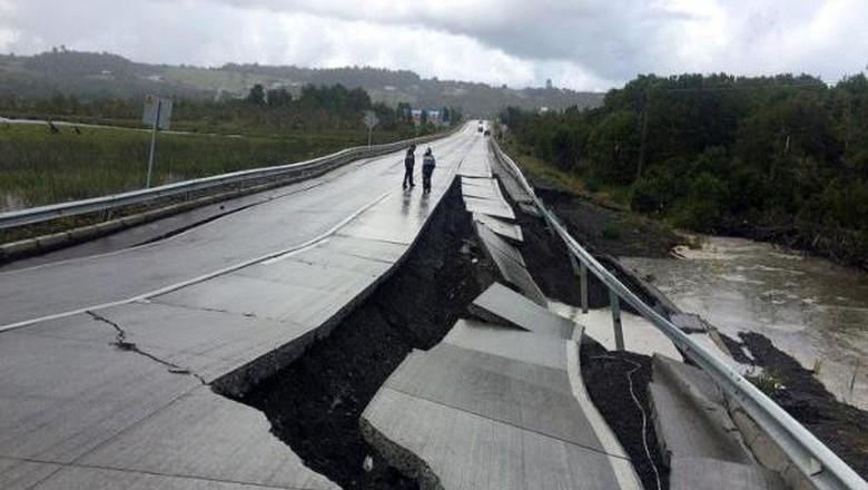 Gempa 7,6 SR Guncang Chile, Sempat Ada Peringatan Tsunami