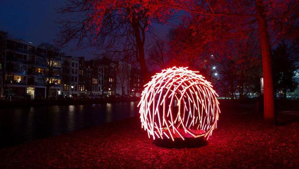Wow! Kerennya Cahaya di Amsterdam Light Festival