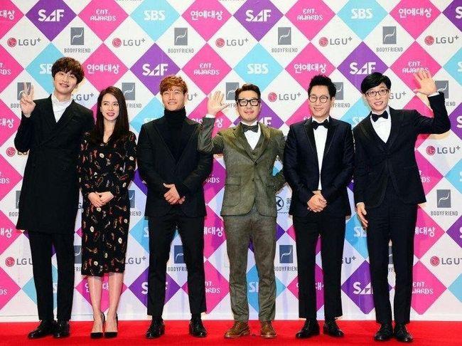 Lee Kwang Soo dan Jeon Seo Min Syuting 'Running Man' di Yogyakarta
