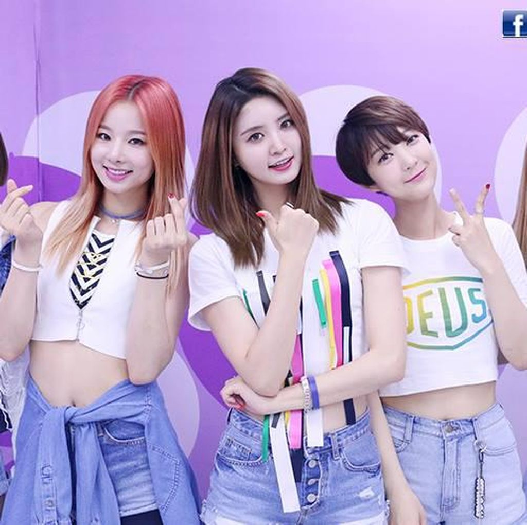 Confirmed! EXID Comeback April