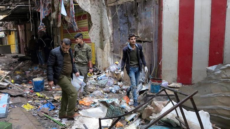 Bom Bunuh Diri di Mosul Irak Tewaskan Lima Orang