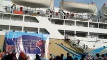 Foto-foto Serunya Pelayaran Tahun Baru di Kapal Pelni