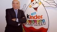Penemu Cokelat Kinder Surprise Meninggal di Usia 83 Tahun