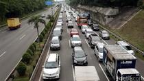 Jam Pulang Kerja, Tol JORR Kampung Rambutan-Pondok Indah Macet 8 Km