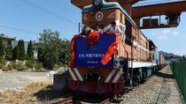 China Luncurkan Kereta Barang Langsung dari China ke London