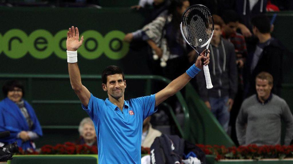 Djokovic Melangkah ke Semifinal Qatar Terbuka