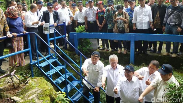 Lestarikan Mata Air, 5 Menteri Tanam Pohon di Hulu Sungai Brantas