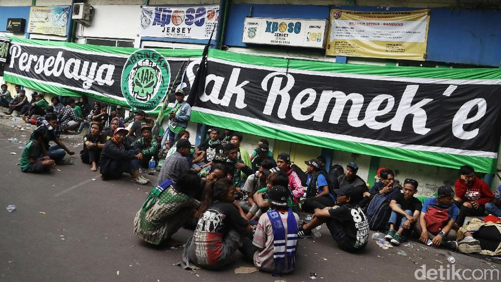 Berangsur Pulang, Bonek Bakal Gelar Pesta Rakyat di Surabaya