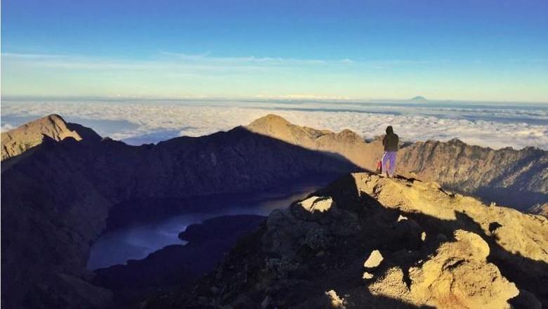 Ilustrasi Gunung Rinjani (andikset/dTraveler)