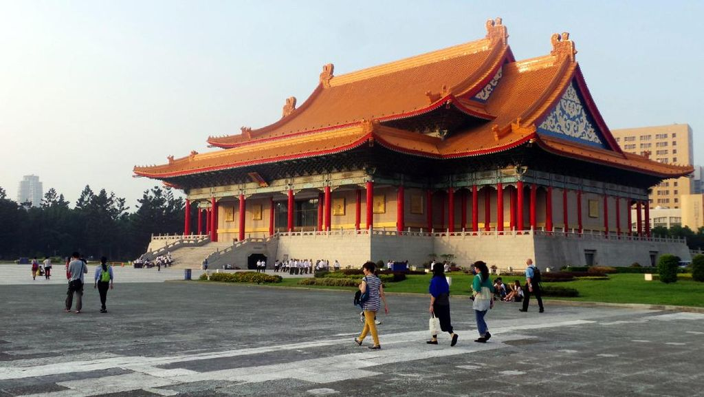 Bukan Istana, Ini Gedung Konser & Teater Nasional Taiwan