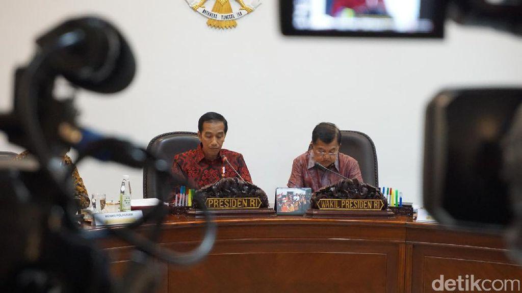 Jokowi Kumpulkan Menteri, Evaluasi Proyek Strategis Nasional