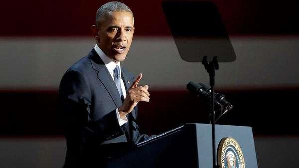 Pidato Perpisahan di Chicago, Obama Bicara Tentang Perubahan