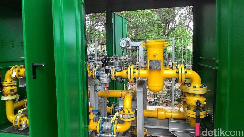 PGN: Harga Gas Bumi di Medan Turun Sejak 1 Februari 2017