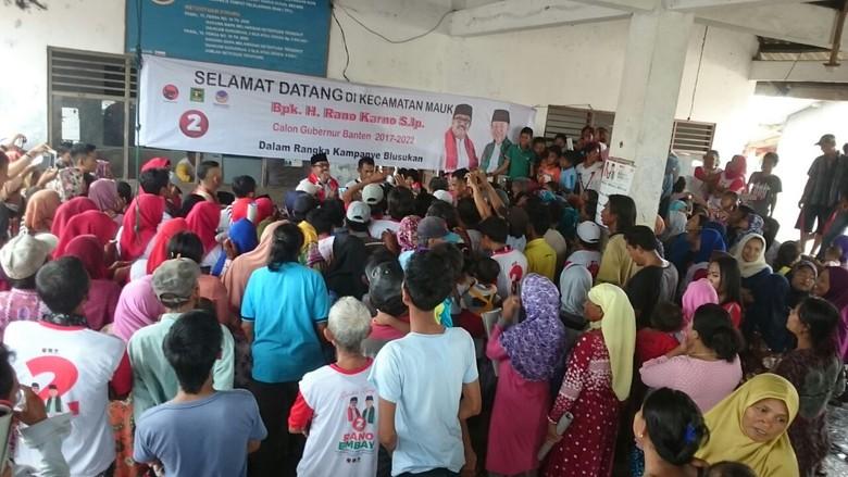 Cagub Rano Karno Janjikan Infrastruktur dan Modal ke Nelayan