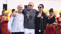 Vin Diesel Disambut Seperti Raja di India
