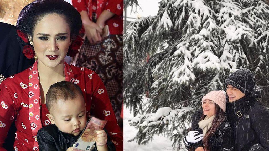 Putra Ahmad Dhani Pilih Uang, Liburan Romantis Asmirandah dan Jonas Rivanno