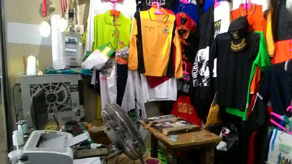 Jelang Pilkada, Pesanan Atribut Partai di Pasar Senen Masih Sepi