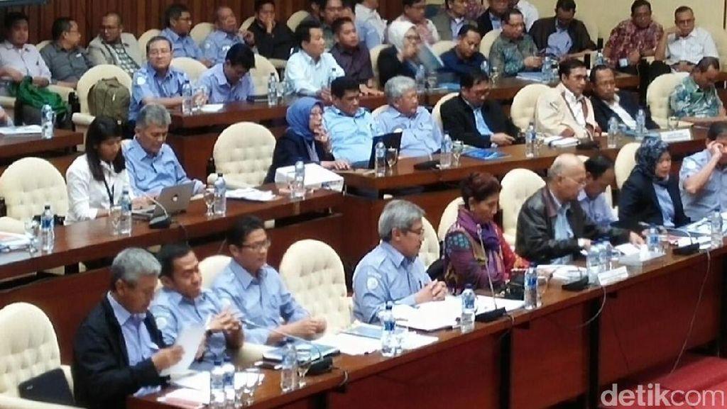 Rapat di DPR, Susi Ditanya Perihal Keberatan Sultan Tidore