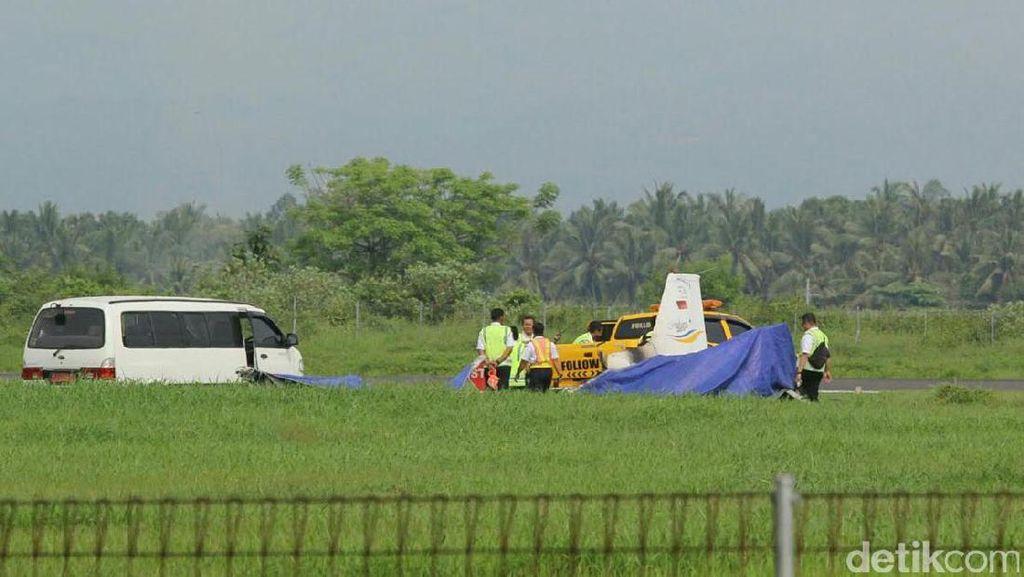 Pesawat Latih Terbakar di Banyuwangi, Ini Investigasi KNKT