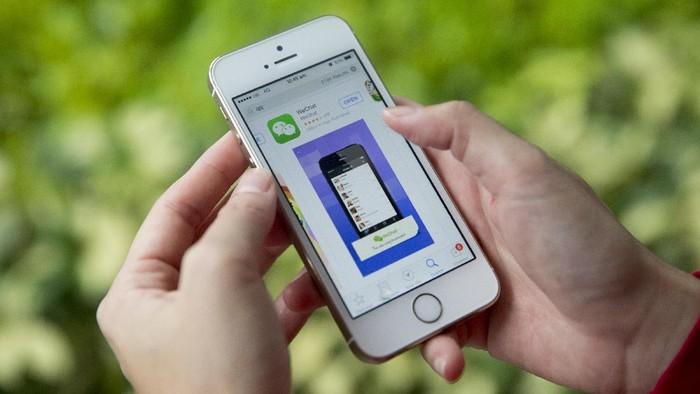 WeChat. Foto: Brent Lewin/Bloomberg
