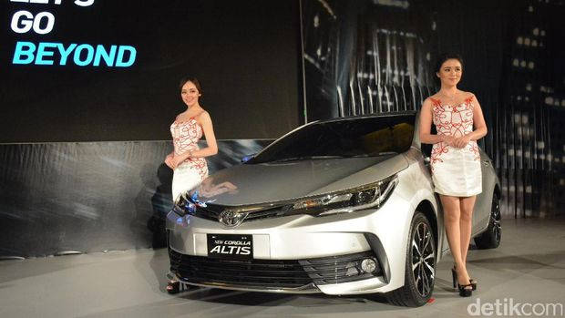 Toyota Corolla model Indonesia